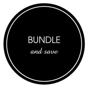 Bundle for a special discount!